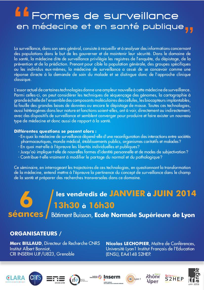 Seminaire_Surveillance_medecine_santepublique_Lyon_2014
